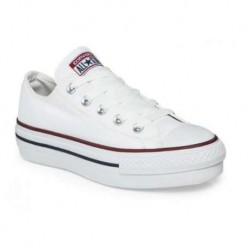 Converse All Star Plataforma Blancas - BelleCose