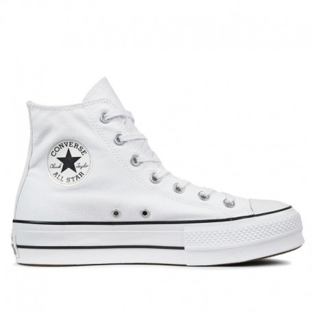 Converse All Star Plataforma Blanco