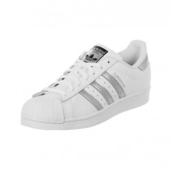 "Adidas ""SUPERSTAR 2015"" Blancas Plateadas - BelleCose"