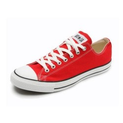 Converse All Star Bajas Rojo