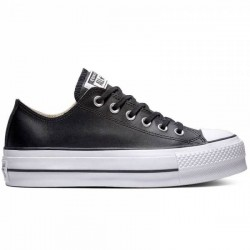Converse Leather Negro