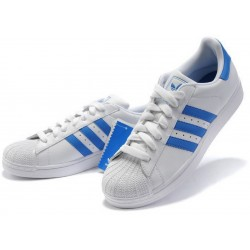 "Adidas ""SUPERSTAR 2015"" BLANCAS/AZULES 44,95€ - BelleCose"