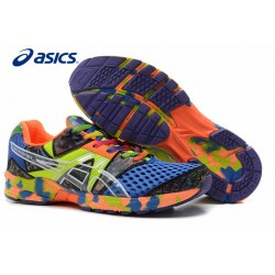 "Asics ""TRI 8"" AZUL AMARILLO ESTAMPADO - BelleCose"