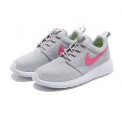 "Roshe Run ""CLASSIC"" GRISES/ROSAS - BelleCose"