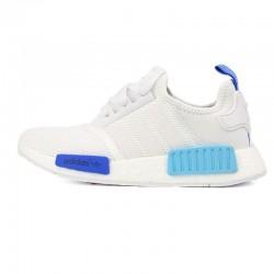 Adidas NMD Blancas Tonos Azules